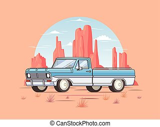 Off Road Pickup Truck Template - Off road pickup truck...