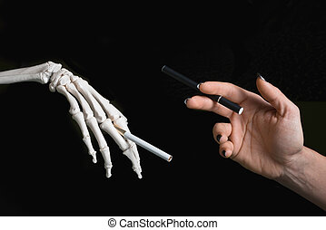 Smoking issues - Regular cigarette vs electronic cigarette...