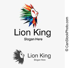 Lion Vector Design Logo