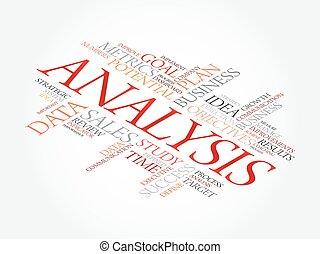 palabra, análisis, nube