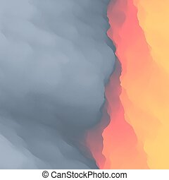 Lava. Abstract background. Vector Illustration. - Lava....