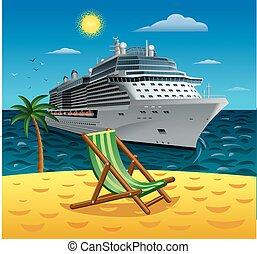 cruise tropical resort