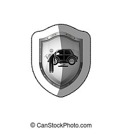 Car Repair service icon vector illustration graphic design