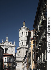 Valladolid (Castilla y Leon, Spain): buildings - Valladolid...