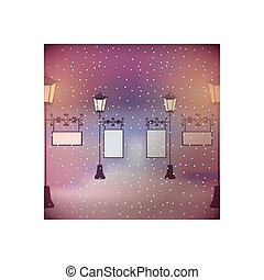 Street light lamp icon vector illustration graphic design