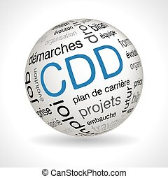 French CDD theme sphere with keywords