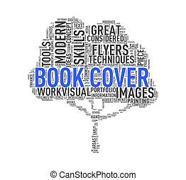 Tree shape wordcloud book cover