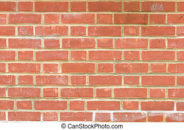 Pattern of a brick wall - pattern created by cooked clay...