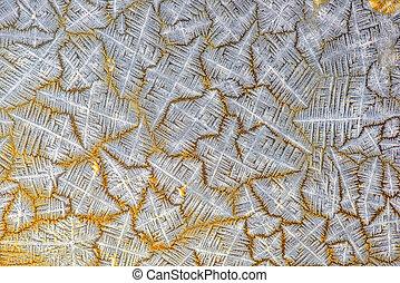 Crystal salt pattern