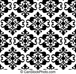 Seamless vector background, wallpaper illustration -...
