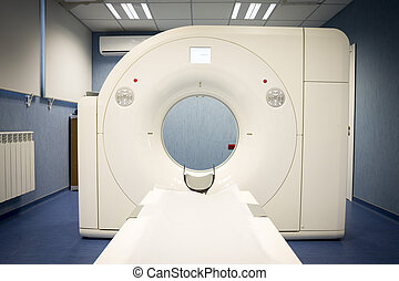 Magnetic resonance imaging (MRI) scan in a new neurosurgery...