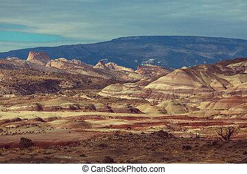 Utah landscapes - Sandstone formations in Utah, USA