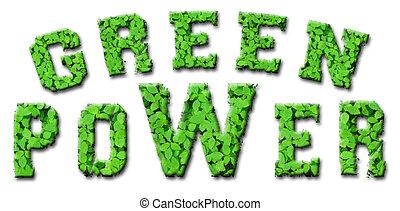 Green Power concept design
