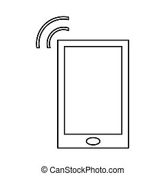 smartphone internet connection digital device linear