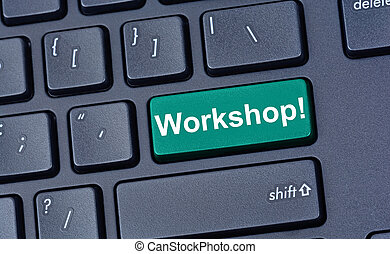 Workshop on computer keyboard