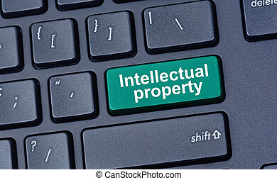 Intellectual property on computer keyboard button