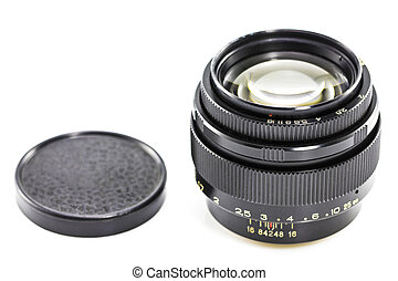 old Photographic lens / Slr vintage lens / 85mm f2.0