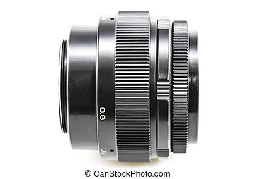 old Photographic lens / Slr vintage lens / 85mm f2.0