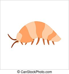 Centipede insect cartoon character vector. - Centipede...