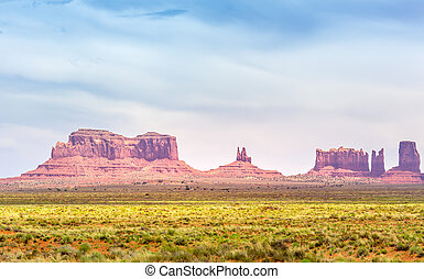 Mittens and Merrick Butte Monument Valley Park - Mittens and...