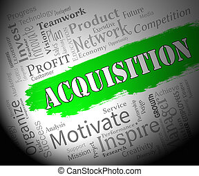 Acquisition Words Representing Procuring Procurement And...