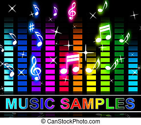 Music Samples Means Reusing Tune Or Song Parts - Music...