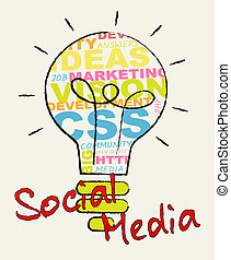 Social Media Shows Forums And Networking 3d Illustration