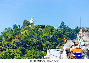 Kandy Bahiravokanda Vihara Buddha Hill Below H - The...