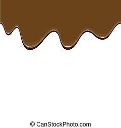 Chocolate background - Abstract seamless background showing...