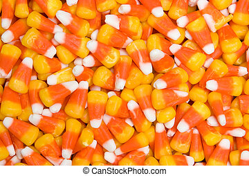 Candy Corn - Orange and yellow candy corn