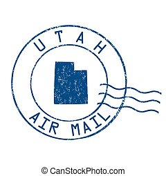 Air mail stamp Illustrations and Clipart. 2,087 Air mail stamp ...