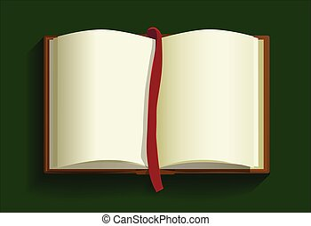 open book background.