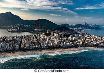 Ipanema neighborhood in Rio De Janeiro