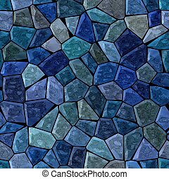 medium blue colored abstract marble irregular plastic stony...