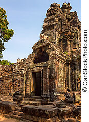 Ta Som temple, Angkor area, Siem Reap, Cambodia - One of...