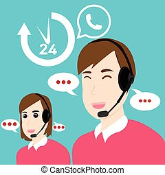 Customer service and support Open 24 hours