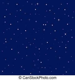 nice bright stars in the night sky