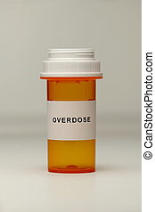 Prescription Bottle with Label