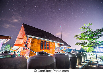 A night sky full of stars