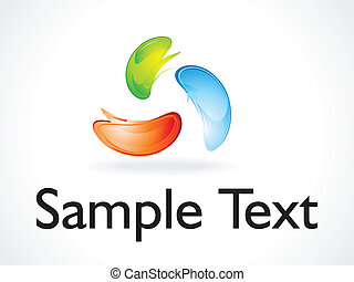 abstract logo template vector illustration
