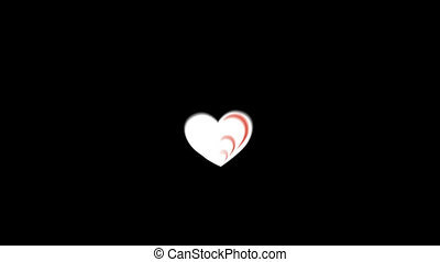 Heart Flat Icon - Business and Startup concepts flat icon...