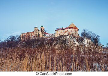 Benedictine monastery in Tyniec near Krakow, Poland