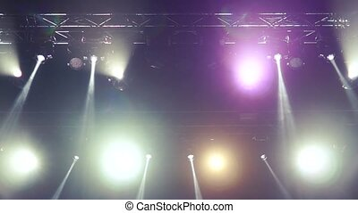 Stage Lighting Effects Rays