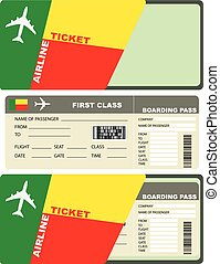 Flight Tickets to Benin - First-class ticket on the plane to...