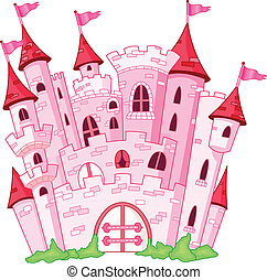 Castle - Pink princess castle