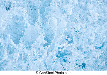 Ice texture - Background of winter Ice texture