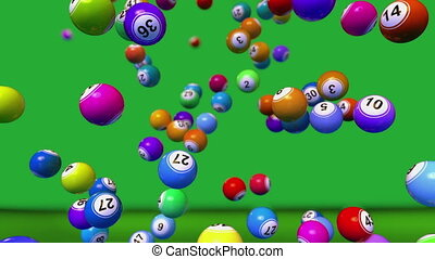 Bingo Balls Background - High quality bingo Balls Background