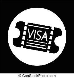 Entrance Visa icon
