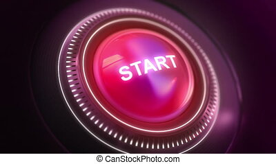 Button Start On/Off - Two high qualiy animations of Button...
