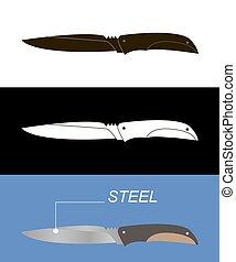 Pocket knife set